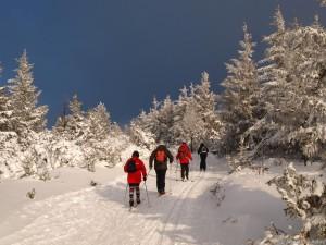 Ski de fond aux Estables